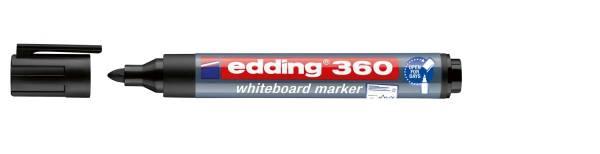 360 Boardmarker nachfüllbar, 1,5 3mm, schwarz