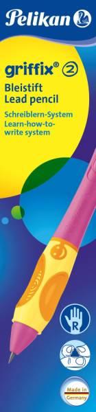 griffix Bleistift berry pink für Rechtshänder in Faltschachtel®
