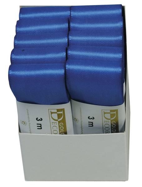 Basic Taftband 40 mm x 3 m, kornblau