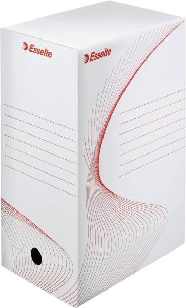 Ablagebox Top Archiv System, weiß rot
