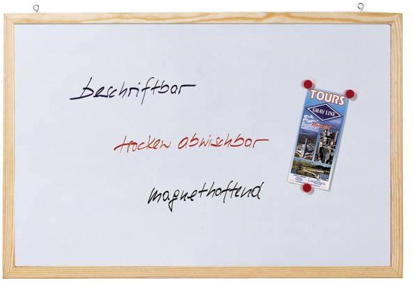 Magnetische Schreibtafel Memoboard, Wandbefestigung, 80 x 60 cm