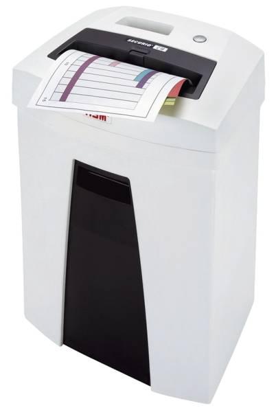Aktenvernichter SECURIO C16 3,9mm, Streifenschnitt, 12 14 Blatt, weiß