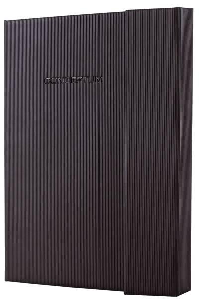 Notizbuch ca A5, kariert, 194 Seiten, schwarz, Hardcover®