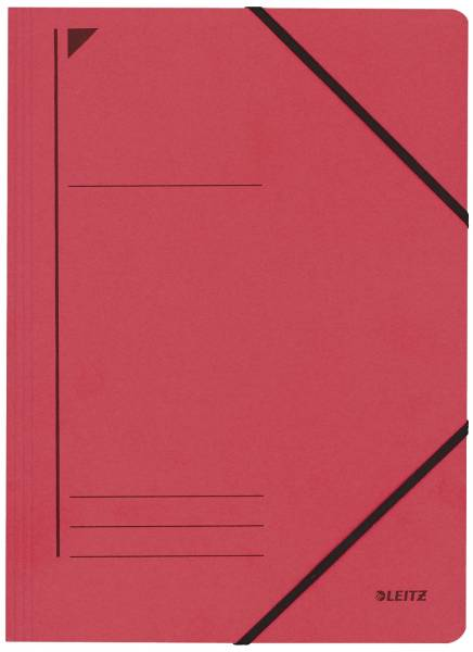 3980 Eckspanner A4, 250 Blatt, Pendarec Karton (RC),, rot