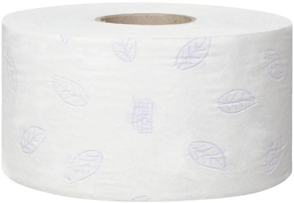 TORK Toilettenpapier 12 Rollen weiß 110255 Mini Jumbo