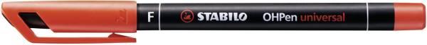STABILO Folienschreiber OHPen F rot 842/40 permanent