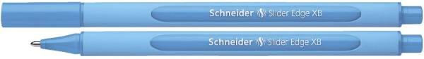 Kugelschreiber Slider Edge Kappenmodell, XB, hellblau