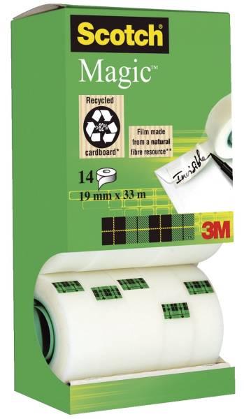 Klebeband Magic (TM) 810, beschriftbar, 33mx19mm, 14 Rollen