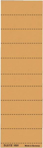 1901 Blanko Schildchen Karton, 100 Stück, orange