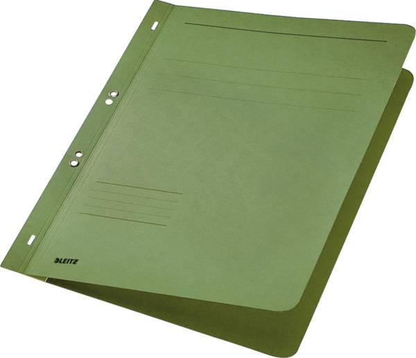 3742 Ösenhefter, 1 1 Vorderdeckel, A4, kfm oder Amtsheftung, Manilakarton, grün