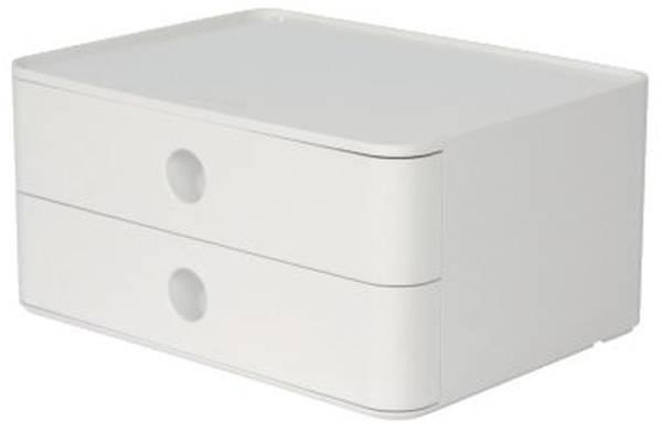 HAN Schubladenbox 2 Laden weiß 1120-12 Allison