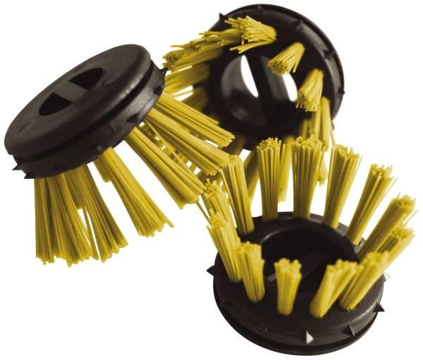MILTEX Rundbürste Pg10St gelb 31281 f.Ringgummimatte