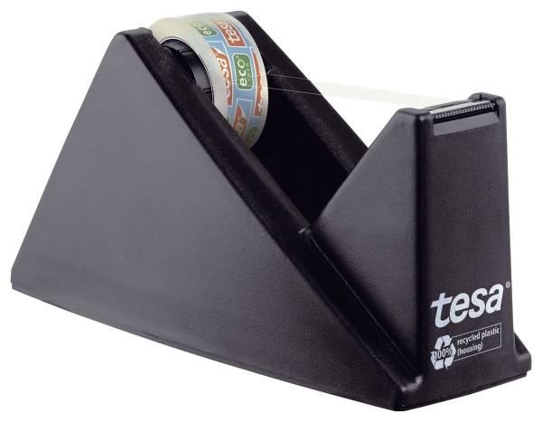 Tischabroller ecoLogo, gefüllt inklusive 1 Rolle Eco & Clear, schwarz®
