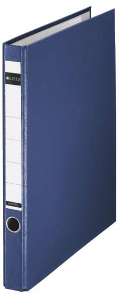 LEITZ Ordner Plastik A4 blau 1014-00-35 35mm