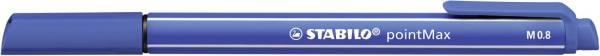 STABILO Faserschreiber pointMax 0,8 mm ultra.bl 488/32