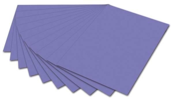 Fotokarton A4, veilchenblau