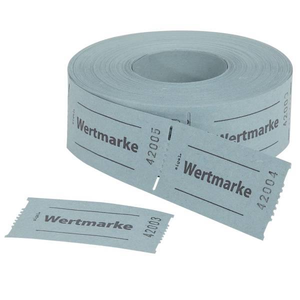 SIGEL Gutscheinmarke 500St/Rl blau Gr555 Wertmarke