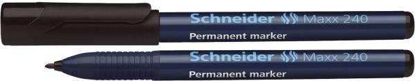 SCHNEIDER Marker 240 1-2mm schwarz SN124001