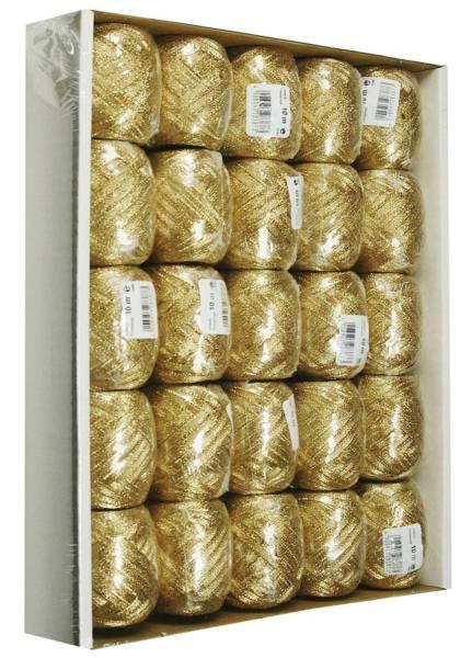 GOLDINA Eiknäuel 5mmx10m gold 1093005152510