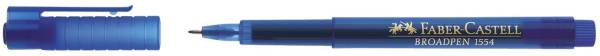 Fineliner BROADPEN 1554 0,8 mm, blau