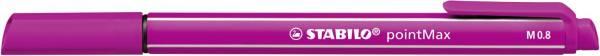 STABILO Faserschreiber pointMax 0,8mm rosa 488/56