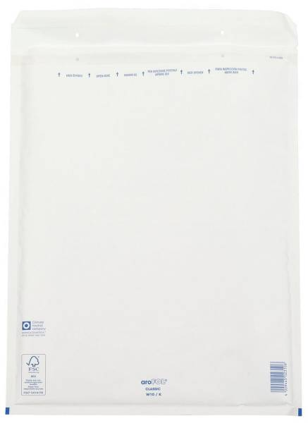 Luftpolstertaschen Nr 10, 350x470 mm, weiß, 10 Stück