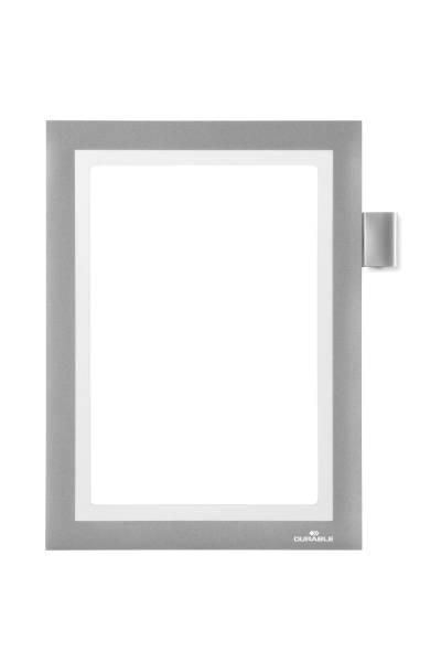 DURABLE Informationsrahmen DURAFRAME® NOTE A5 4994 23 sk metallic silber