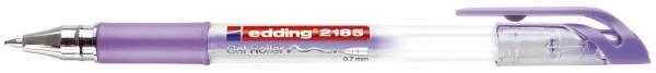 2185 Gelroller crystaljelly 0,7 mm, violett metallic