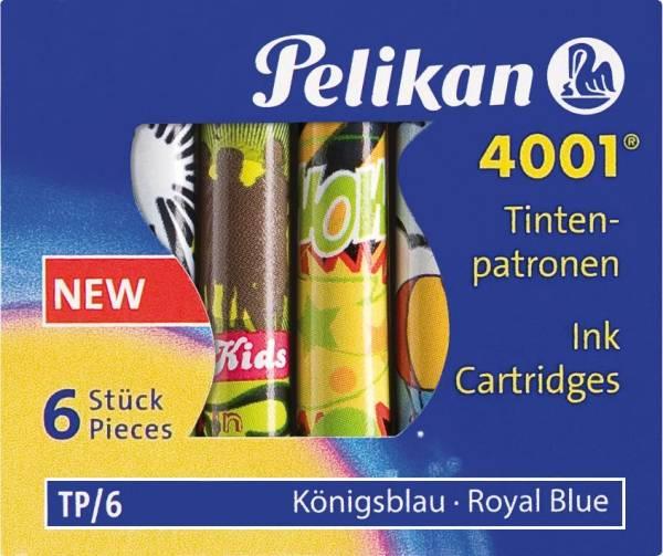 PELIKAN Tintenpatrone Stand.m.Mot.blau 338244 TP/F/6 6St