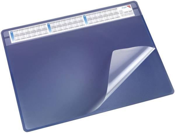 Schreibunterlage DURELLA soft 65 x 50 cm, blau