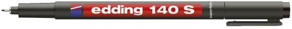 EDDING Folienstift 140S schwarz 4-140-001 permanent