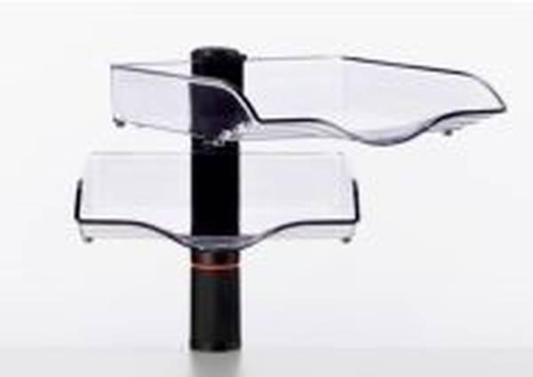 Belegefach CopySwinger II anthrazit Schalenset, B4, 2 Stück, Kunststoff, M