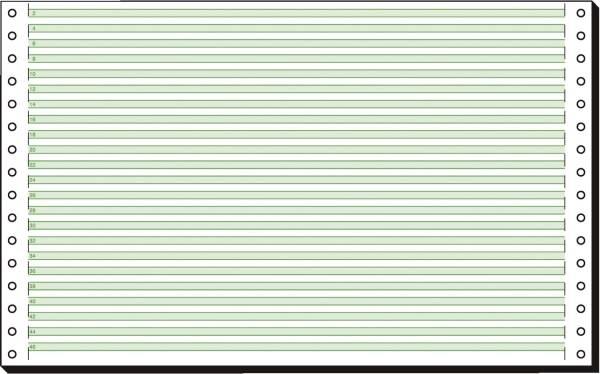 "SIGEL Endlospapier 8""x330 mm liniert 08336 1-fach 60g 2000 Blatt"