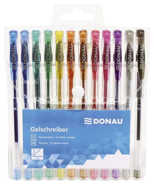 DONAU Gelschreiber Glitzer 12ST 5110100-99