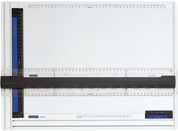 Mars Zeichenplatte A3, schlag und bruchfestem Kunstoff, weiß®