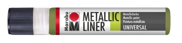 MARABU Metallic Liner 25ml olive 1803 09 765