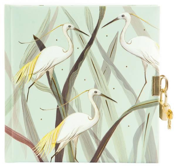 TURNOWSKY Tagebuch Wild Life Heron 44 391 16.5x16.5 cm