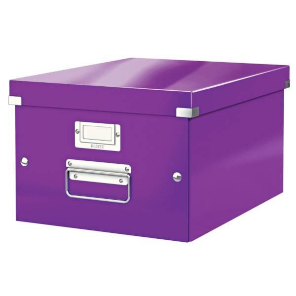 Archivbox A4 Wow metal violett