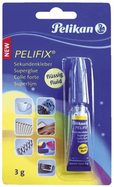 PELIKAN Sekundenkleber Pelifix Tb3g 340067 P897D12 flüssig