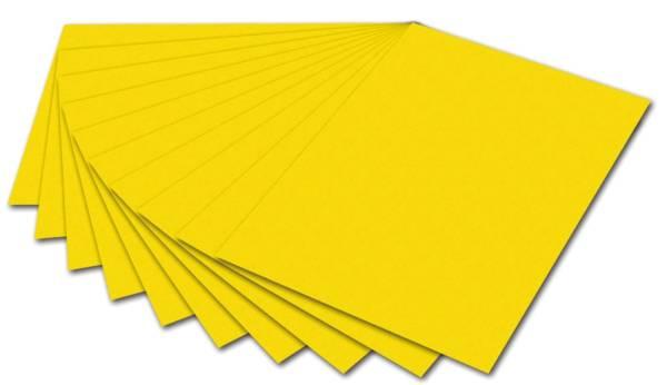 Fotokarton A4, gelb