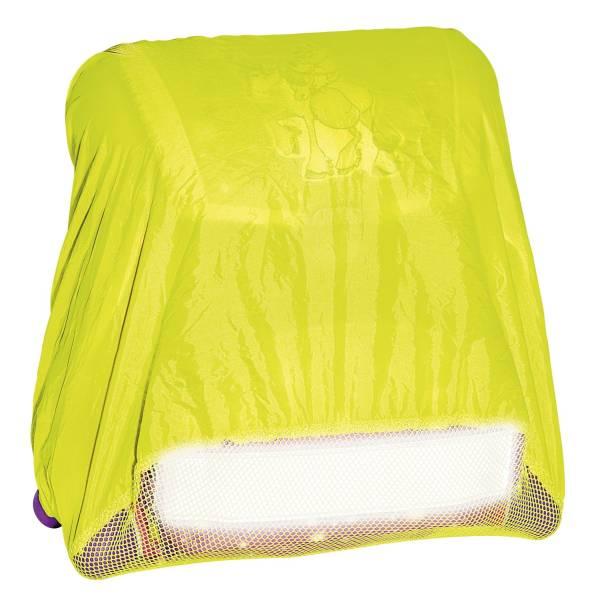 Regenschutzhülle für Schulranzen bis 50 x 50cm, neongelb