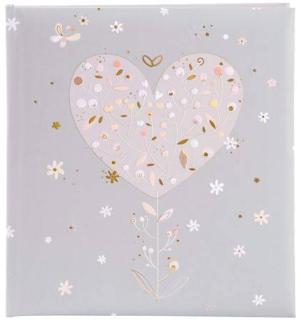 GOLDBUCH Gästebuch Hochzeit Elegant Heart 48 184 23x25cm