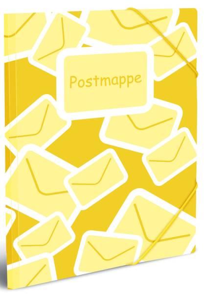 HERMA Sammelmappe Postmappe A4 PP 7129 mit Gummizug