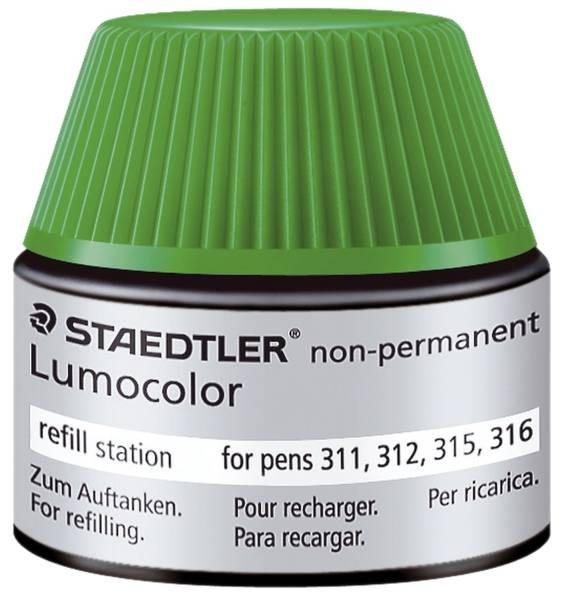 STAEDTLER Tankstelle Lumocolor grün 48715-5