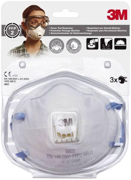 Feinstaubmaske Komfort Pack mit 3 Stück
