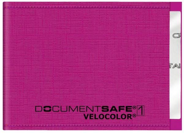 VELOCOLOR Kreditkartenetui Documentsafe pink 3271 371 PP 90x63mm