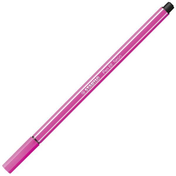 Fasermaler Pen 68 1 mm, neonpink