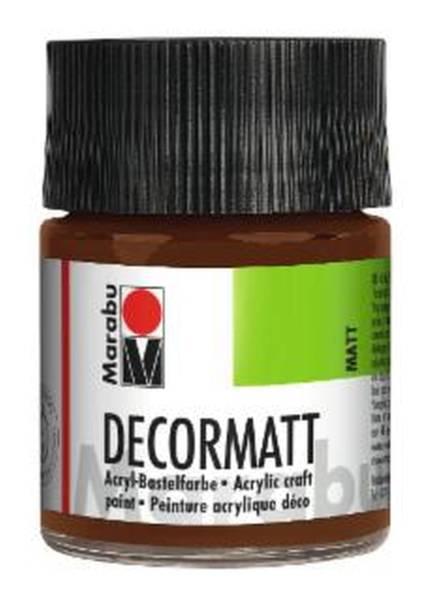 Decormatt Acryl, Hellbraun 047, 50 ml