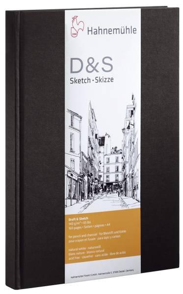 HAHNEMÜHLE Skizzenbuch A4 140g 96BL 10628272