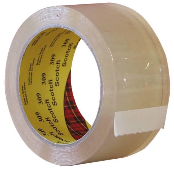 Verpackungsklebeband 6890 PVC, 66 m x 50 mm, transparent